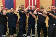 Kleine Wehr Pollhöfen feiert groß - Neudorf-Platendorf wird zweiter beim Tauziehen