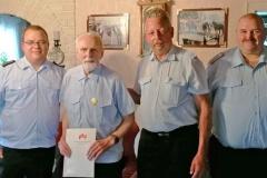 Ehrung nachgeholt: Günter Behrens ist 60 Jahre bei der Feuerwehr